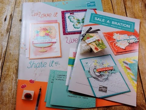 New Catalog Haul | Occasions and Sale-a-bration 2018 Catalogs | NEW HOSTESS CODE