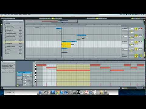 Ableton Live Complete Dubstep Tutorial - Beginning to End