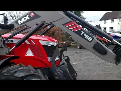 Massey Ferguson 7618 Dyna 6 50KPH c/w MX T412 loader
