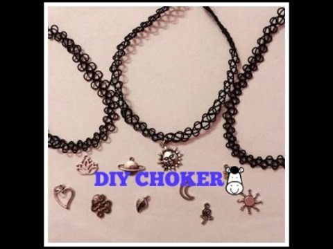 DIY TATTOO CHOKER STEP BY STEP PICTURES