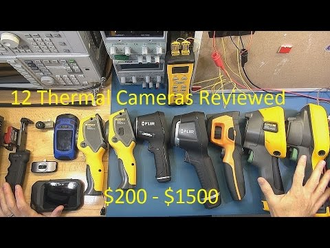 Thermal Camera Buyers Guide under $1500 - Pt 1