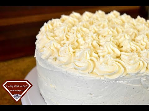 THE BEST EGG NOG CAKE WITH EGG NOG BUTTERCREAM |Holiday Series |Cooking With Carolyn