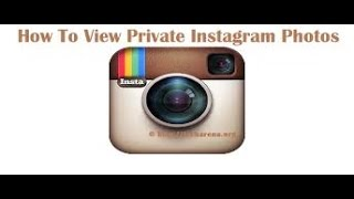 How To View Someones Private Instagram Photos No Survey Video Related