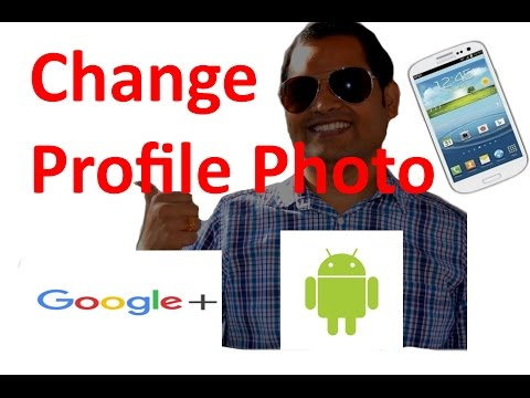 How to change the profile photo in Gmail Android App