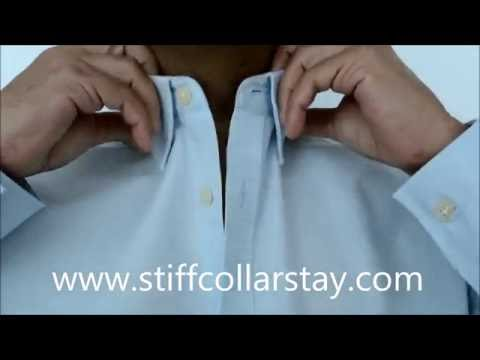 Stiff Collar Stay: How to solve the Shirt collar's problem