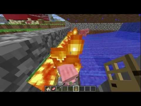 Minecraft Cooked Pig Pork Chop Machine
