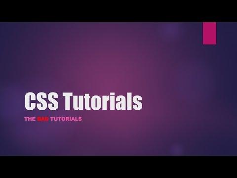 CSS Tutorial - 29: Scrollbars