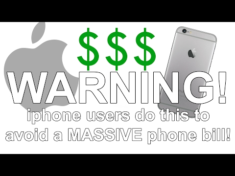 WARNING: Iphone Users Should Do This Before Travelling Internationally To Avoid Huge Phone Bills