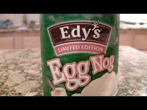 Edy's Limited Edition Egg Nog Ice Cream Video Review: Freezerburns (Ep475)