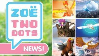 NEW SHINIES, STARDUST BONUS, MOLTRES DAY & MORE | Pokemon GO - ZTD News | ZoeTwoDots