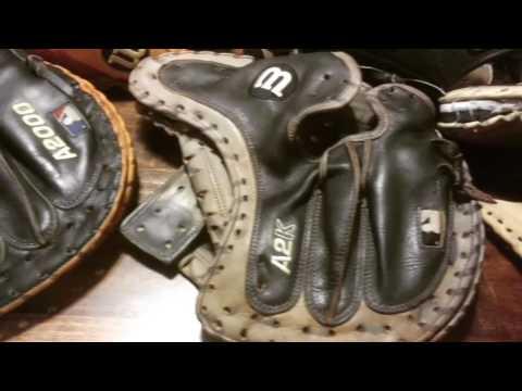 Baseball and Softball Glove Relacing