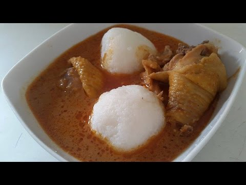 Groundnut/Peanut Soup Recipe