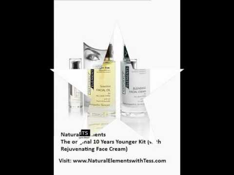 Antiaging skincare from Natural Elements with Tess