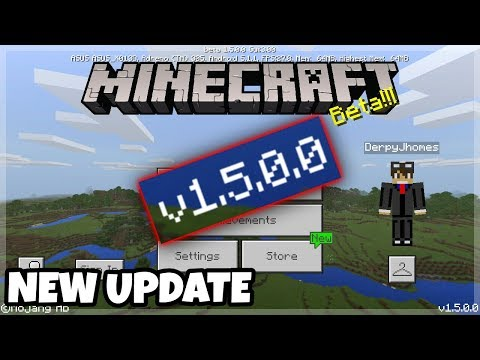 NEW Minecraft Pocket Edition 1.5.0.0 / Download Link with XBOX Live