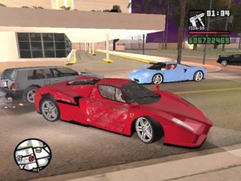 Ferrari enzo in gta