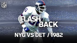 That Time Lawrence Taylor Single-Handedly Beat the Lions | Giants vs. Lions | NFL Highlights