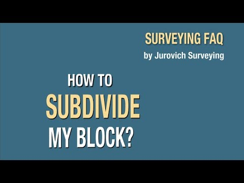 How To Subdivide Your Block In Perth | Jurovich Surveying