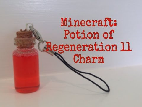 DIY Minecraft Potion Charms