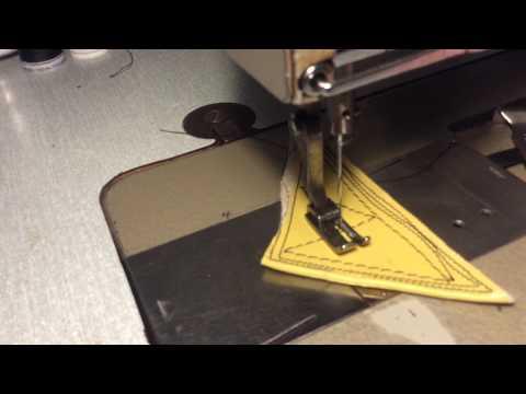 Pfaff 141 6B slow speed leather sewing