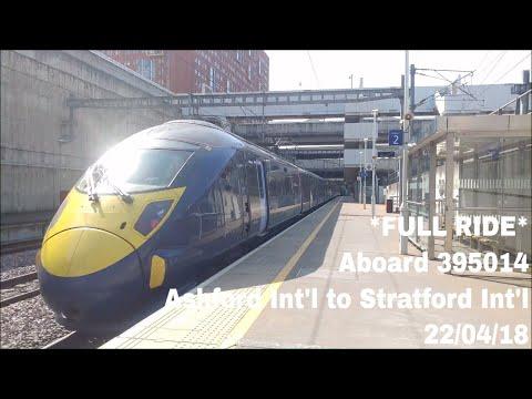 *FULL RIDE* Aboard 395014 from Ashford International to Stratford International