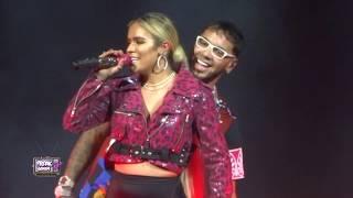 Karol G  Anuel AA Latin Grammys 2018 Full Performance and kiss