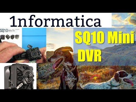 SQ10 Mini HD Camcorder Review 1080P Camera  Sports DV Video Recorder DVR Banggood