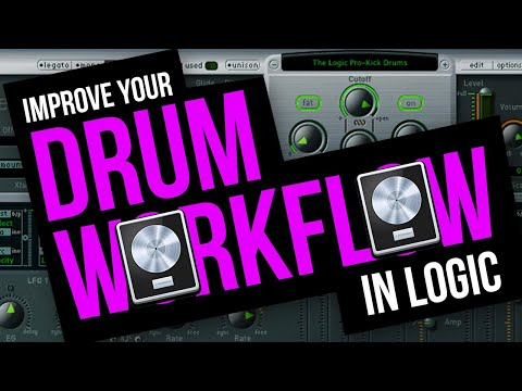 Improve Your Drum Workflow In Logic X + EXS24 With This Tip