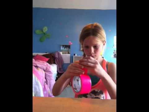 How to make a duct tape ball