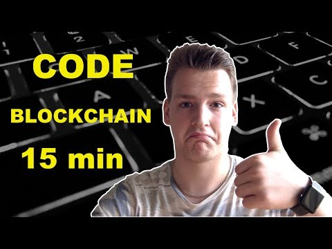 Building a Blockchain in Under 15 Minutes - Programmer explains