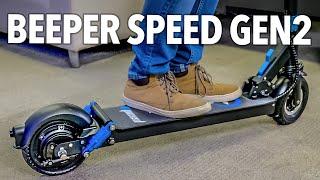 Beeper Speed (GEN2) : la trottinette électrique urbaine en version 2020