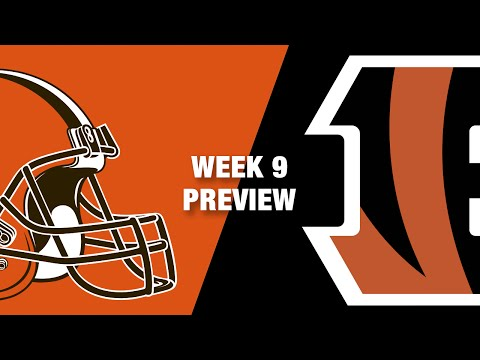 Browns vs. Bengals Preview (Week 9) | Thursday Night Football