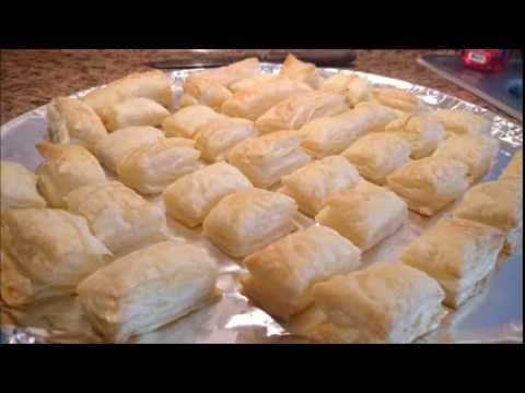 Watch Puff Pastry rise - time lapse