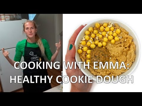 HEALTHY COOKIE DOUGH | Cooking with Emma #2