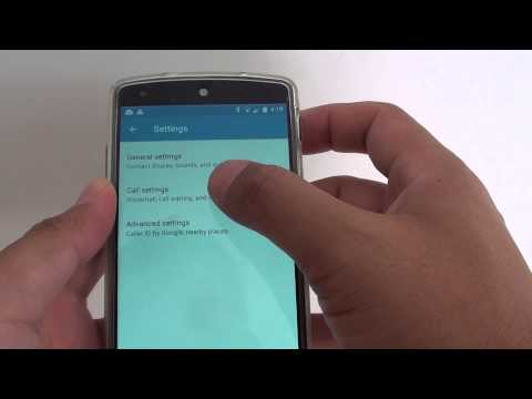 Google Nexus 5: How to Set Voice Mail Number