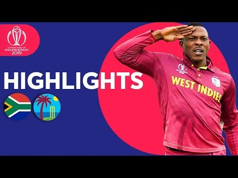 Xxx Mp4 South Africa Vs West Indies Match Highlights ICC Cricket World Cup 2019 3gp Sex