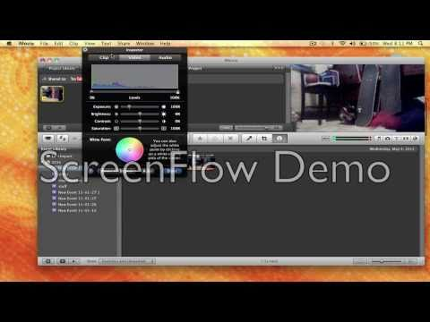 How to do slow motion imovie HD