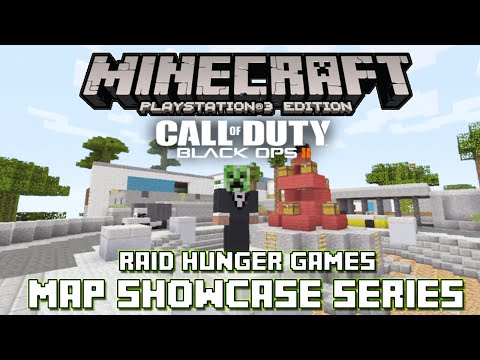 PS3 Minecraft Map Showcase: Episode 56: Call of Duty Black Ops 2 Raid Hunger Games