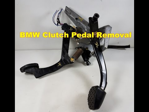 BMW E36 M3 325 328 Brake Master Cylinder  Clutch Pedal Removal