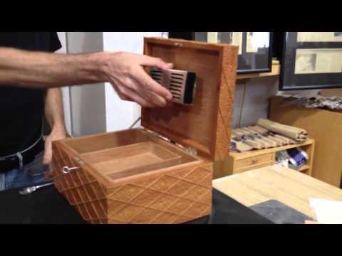Custom Wood Cigar Box