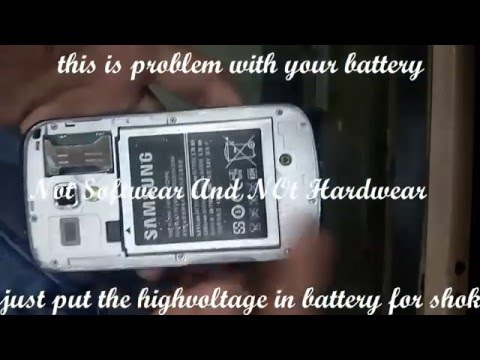 Samsung 7562 blink and vibret problem solve by battery booster and charger