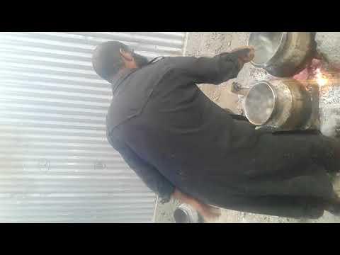 Prepration of Kashmiri Goshtaba