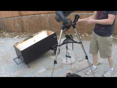 Telescope travel case