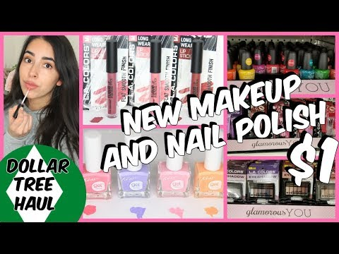 DOLLAR TREE HAUL MARCH 2018 NEW MAKEUP