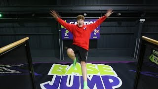 MY FIRST TIME AT A TRAMPOLINE PARK