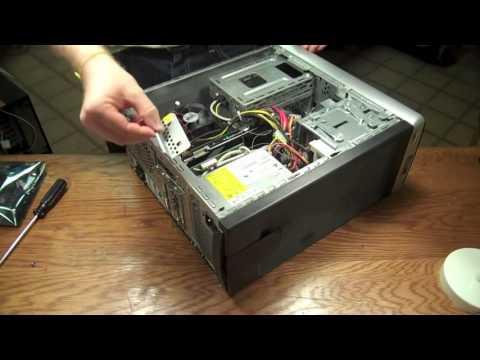 HP Desktop PCIe Video Card Replacement