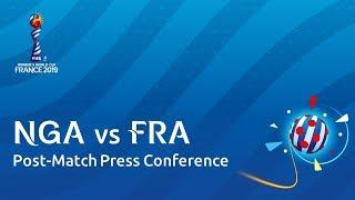 FRA v. NGA - Post-Match Press Conference