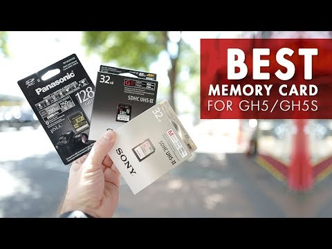 Best Memory Cards for the Panasonic GH5 and GH5S