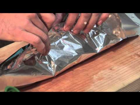 Grilling Scallops & Mushrooms in Foil : Mushroom Recipes