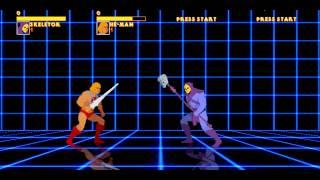 He-Man VS Skeletor 3D Floor Training Room