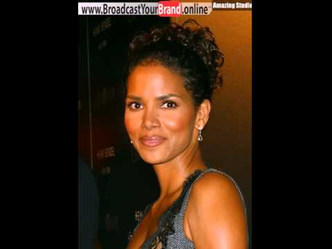 Short Curly Hairstyle From Halle Berry